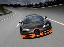 Обои Bugatti Veyron 16.4 SuperSport на рабочий стол