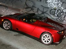 Tesla Roadster фото