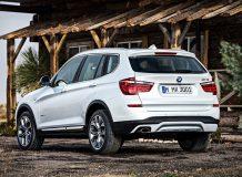 Новый BMW X3 2016 фото