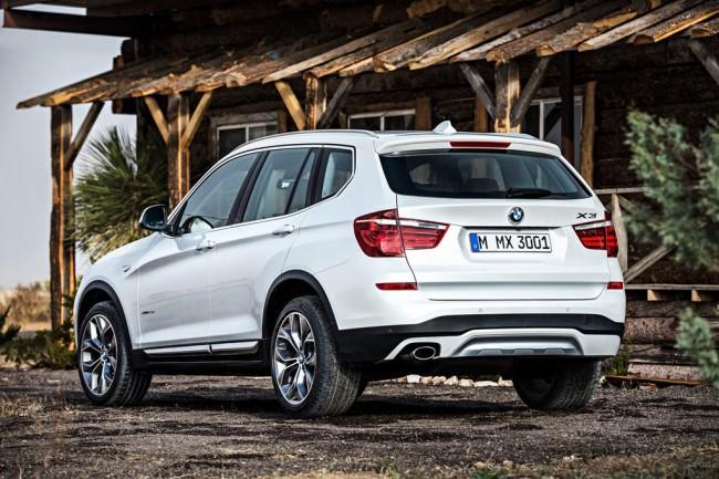 Обновленный BMW X3 2016