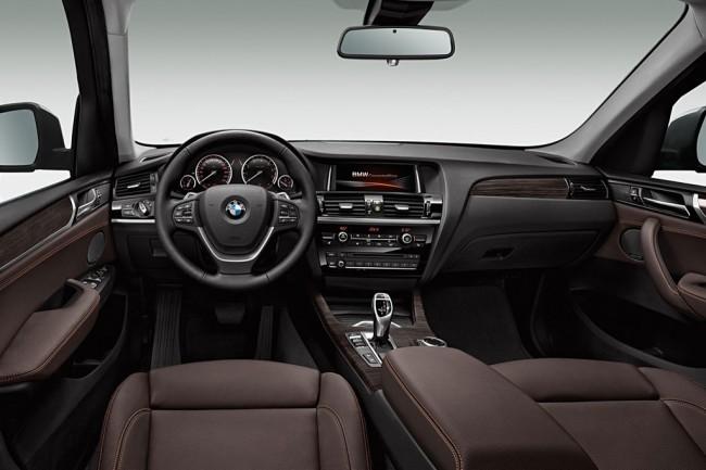 Салон BMW X3 F25