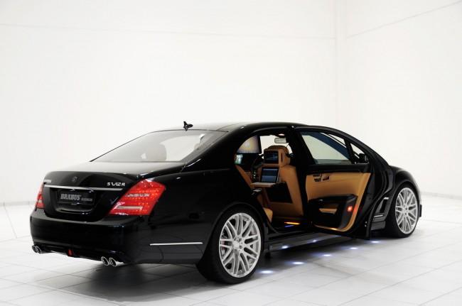 Brabus представил Mercedes iBusiness S-Class