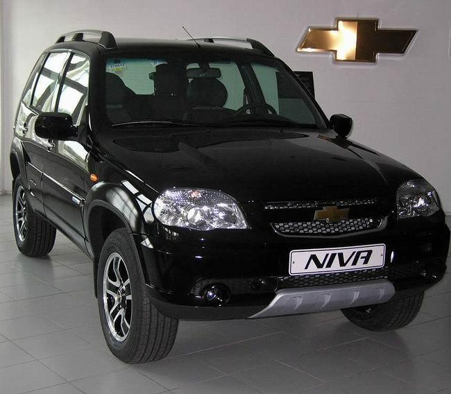 На автосалоне в Москве покажут Chevrolet Niva Special Edition