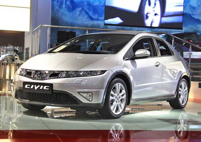 Обновленный хэтчбек Honda Civic в Москве