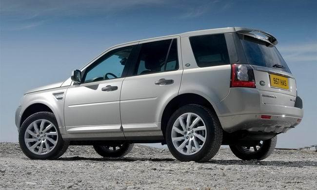 Фото обновленного кроссовера Land Rover Freelander 2