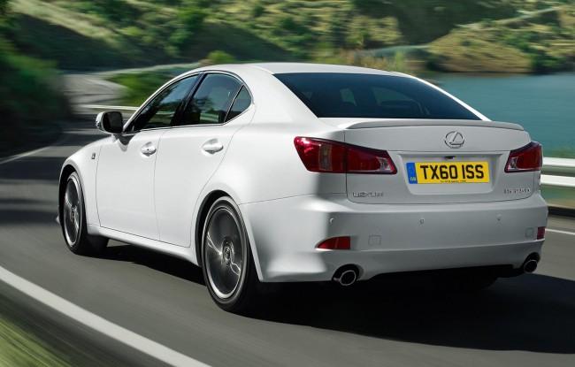 Обновленный Lexus IS 2011