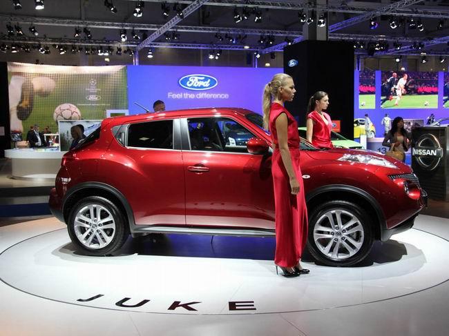 Nissan Juke представили на автосалоне в Москве