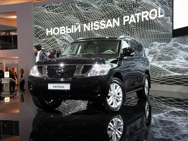 Новый Nissan Patrol представили на Московском автосалоне