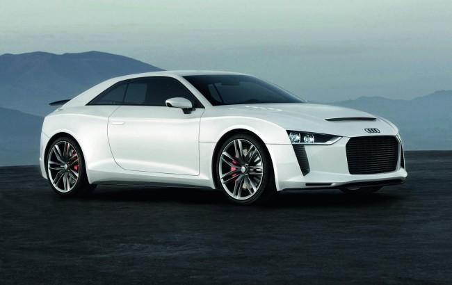 Фото купе Audi quattro concept 2010