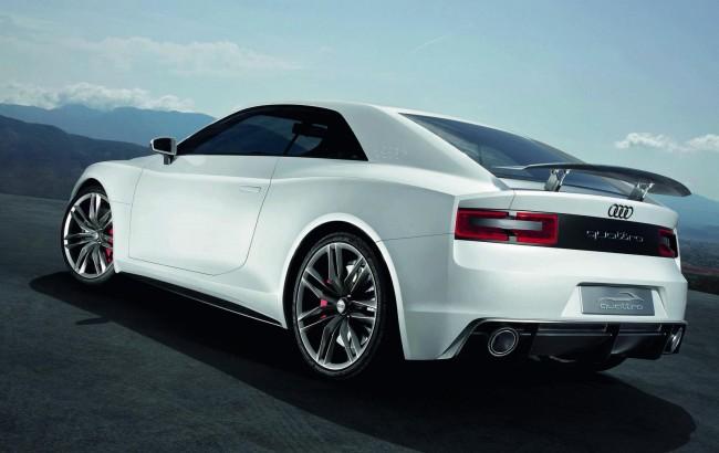 На автосалоне в Париже Audi представила концепт quattro