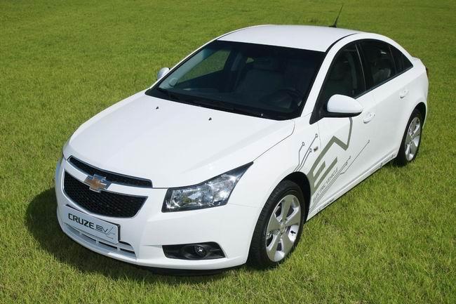 GM начнет тестировать электрический Chevrolet Cruze