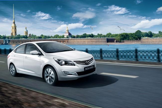 Обновленный Hyundai Solaris 2014