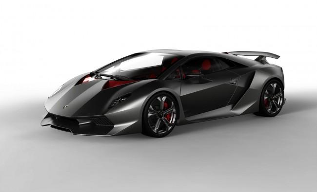 Карбоновый суперкар Lamborghini Sesto Elemento Concept - фото