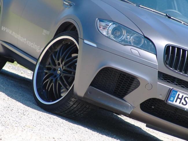 Тюнинговый BMW X6 M от ателье Manhart Racing