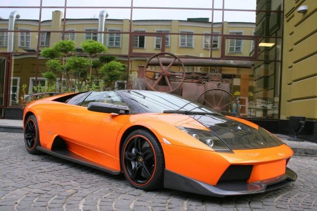 Lamborghini Murcielago Roadster от Status Design