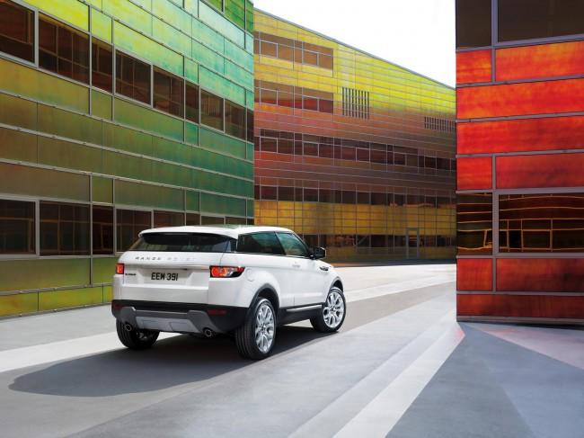 Range Rover Evoque Coupe фото