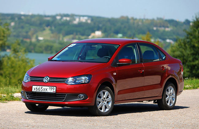 В России стартовали продажи VW Polo седан