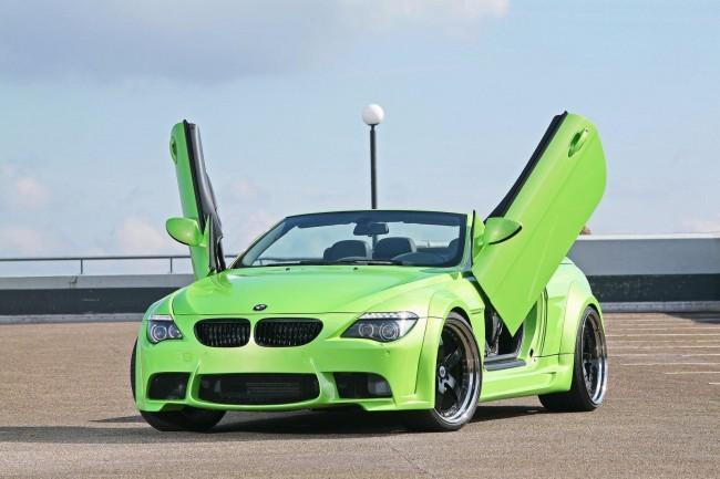 Открывающиеся вверх двери для BMW 6