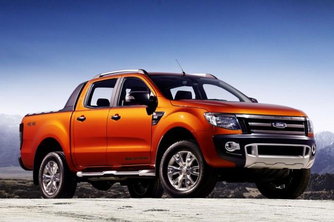 Новый пикап Ford Ranger (T6)