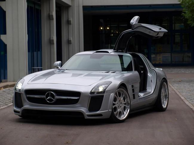 FAB Design подготовили тюнинговый Mercedes SLS