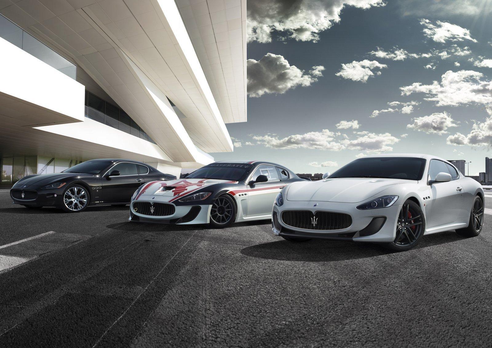 Фото новой Maserati GranTurismo MC Stradale