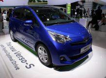 Toyota Verso-S на автосалоне в Париже