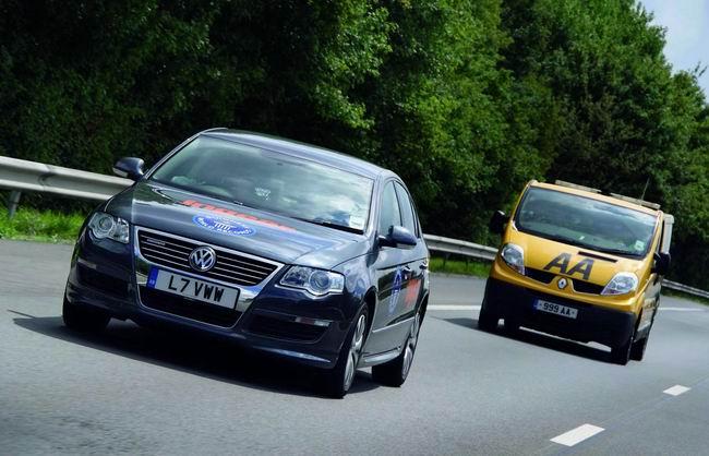 VW Passat преодолел 2500 км без дозаправки