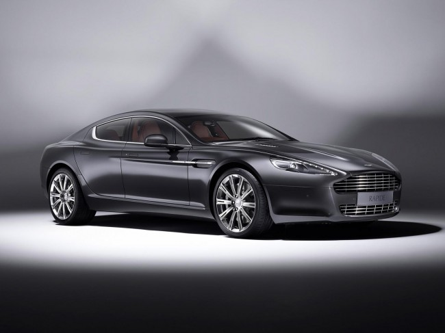 Aston Martin Rapide получил версию Luxe