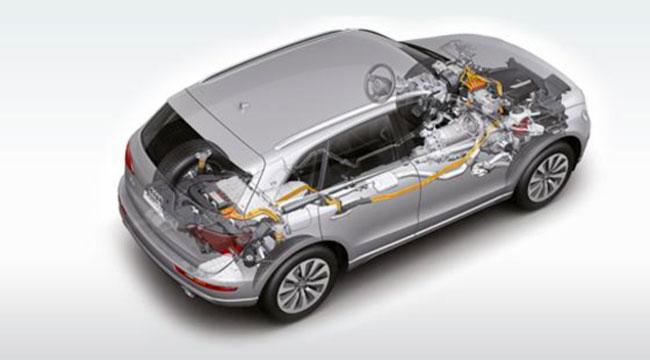 Гибридный Audi Q5 дебютирует в Лос-Анджелесе