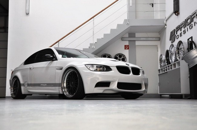 BMW M3 E92 получила широкий обвес от Prior Design