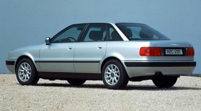 Фото легендарного седана Audi 80