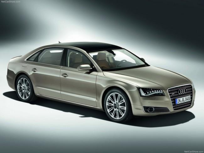Объявлены российские цены на седан Audi A8 L