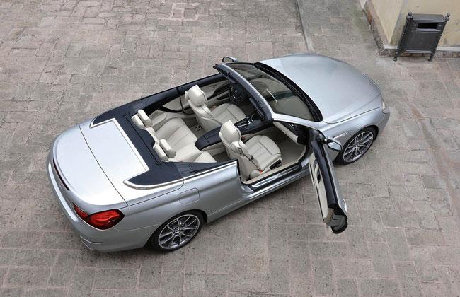 Объявлены российские цены на новую BMW 6-series Cabrio