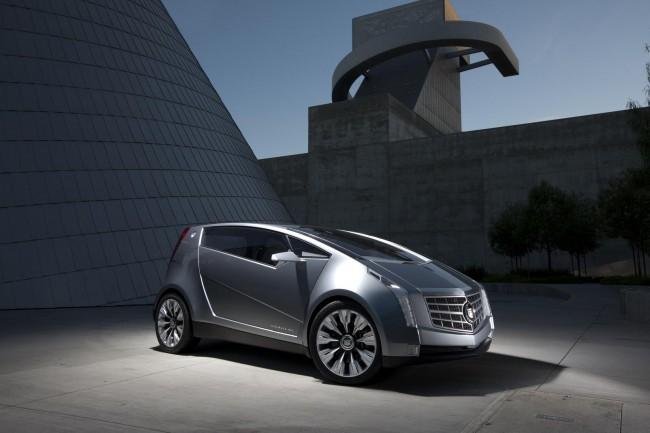 Cadillac представил гибридный Urban Luxury Concept