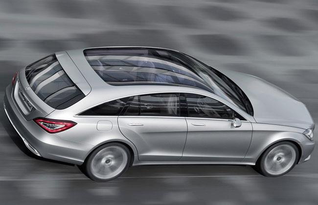 Mercedes CLS будет предлагаться в кузове универсал