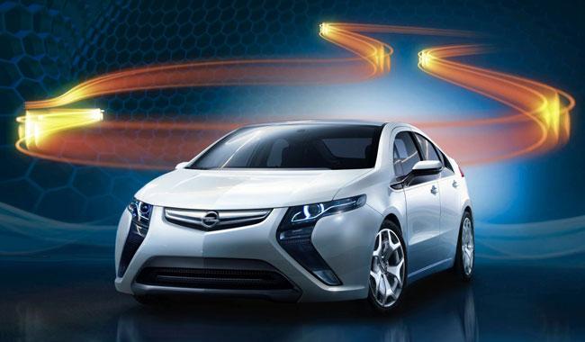 Названы базовые цены за гибрид Opel Amperta