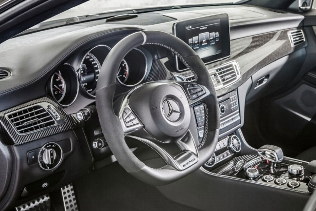 Салон Mercedes-Benz CLS 63 AMG