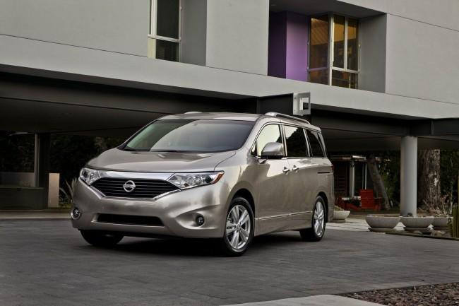 Nissan представил четвертое поколения минивена Quest