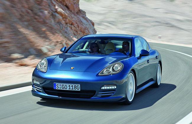 Porsche Panamera получит дизельный двигатель