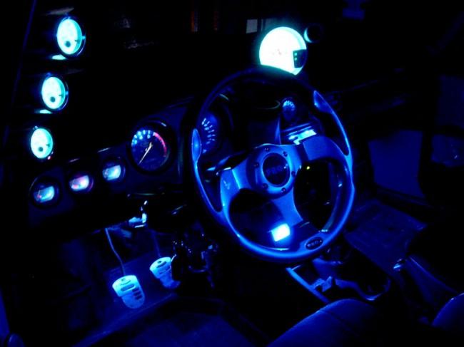 Тюнинг панели приборов на ВАЗ 2106 - фото