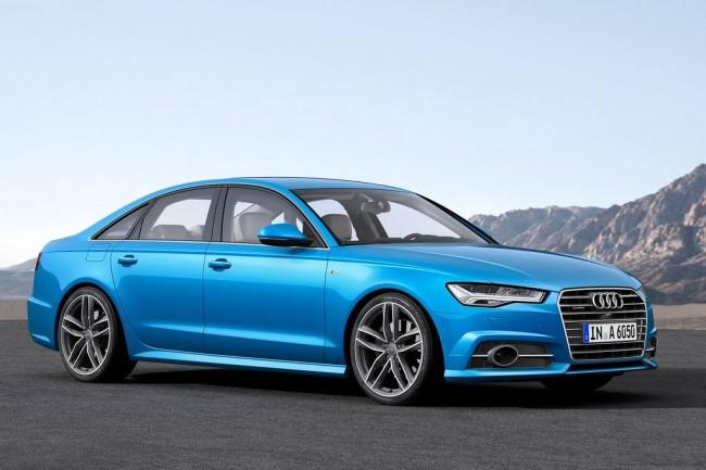 Обновленная Audi A6 2015