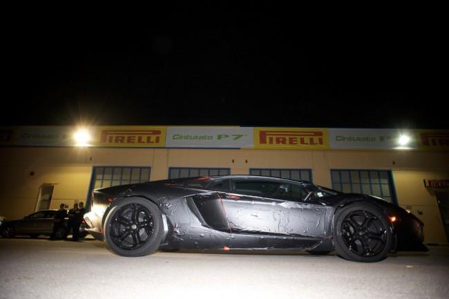 Шпионские фото Lamborghini Aventador LP 700-4