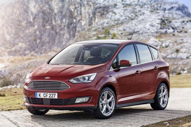 Обновленный Ford C-Max 2015