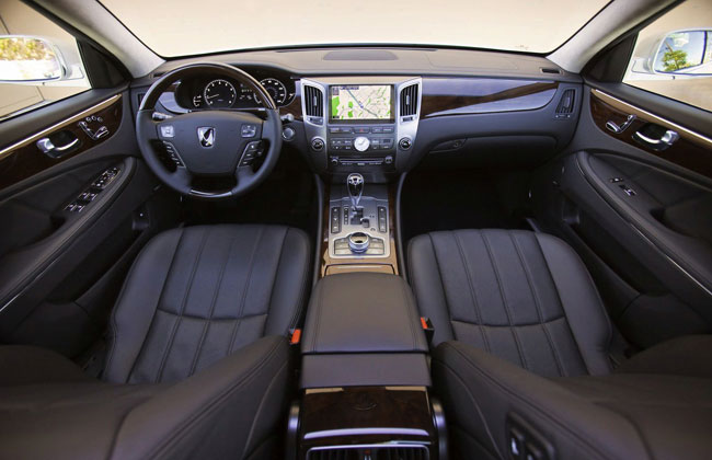 Фото салона Hyundai Equus