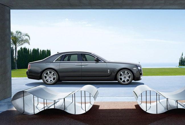 Вскоре к Rolls-Royce Ghost присоединятся купе и кабриолет