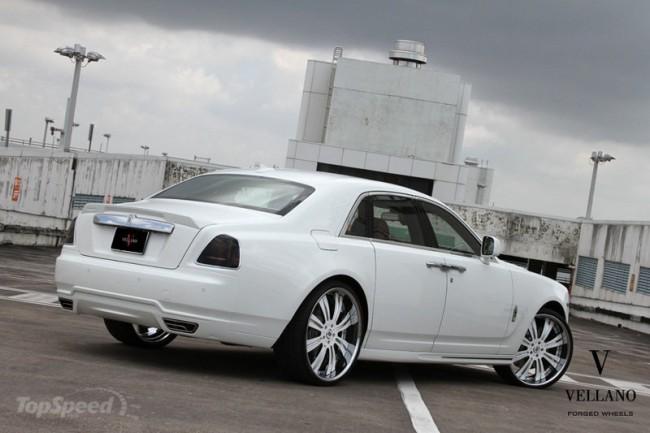 Rolls-Royce Ghost от Mansory с дисками Vellano