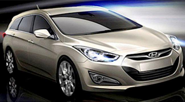 Скетчи нового универсала Hyundai i40W