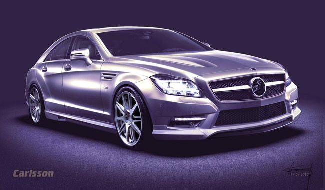 Тюнинг нового Mercedes CLS 2011 от Carlsson