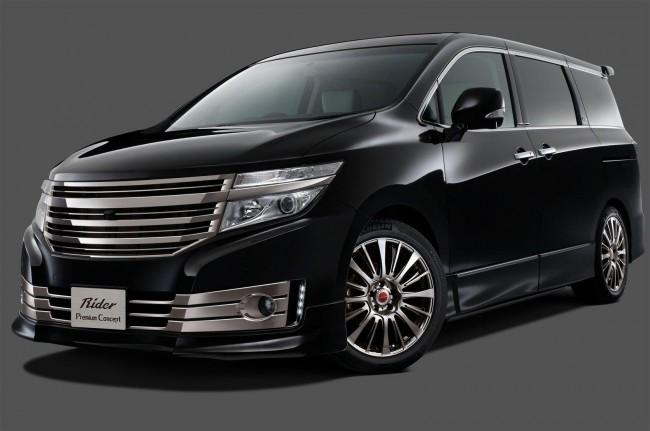 Nissan Elgrand Rider Premium concept