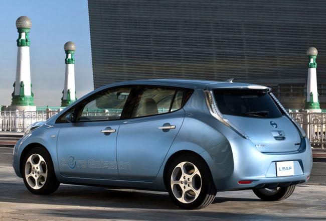 Продажи Nissan Leaf начнутся уже в этом году